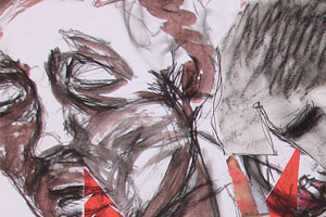 Deconstructed Forms: Collaged Drawings
